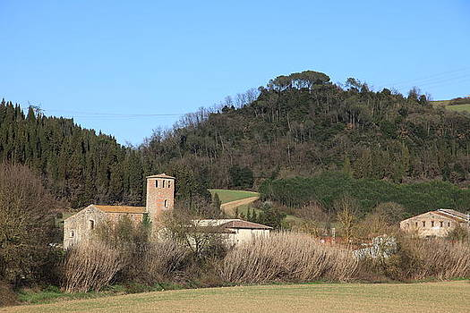 Old church near Montelupo by Francesco Scali