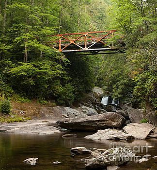 Old Iron Bridge in Smoky Mountains by Matt Tilghman
