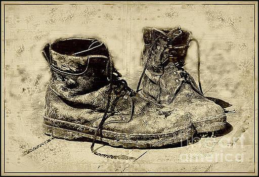 Old shoes by Vladimiras Nikonovas
