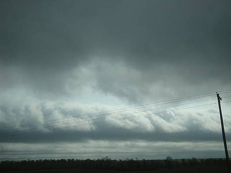 Ominous Clouds by Tonia Darling