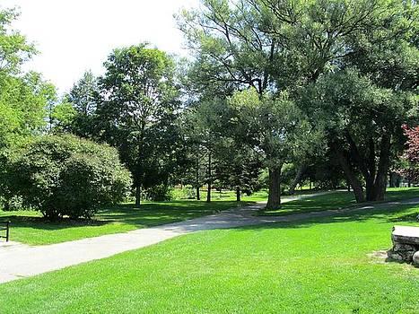 Oshawa Botanical Garden 2 by Sharon E Steinhaus