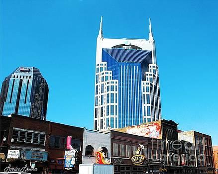 Our Bat Building Nashville by Lorraine Louwerse