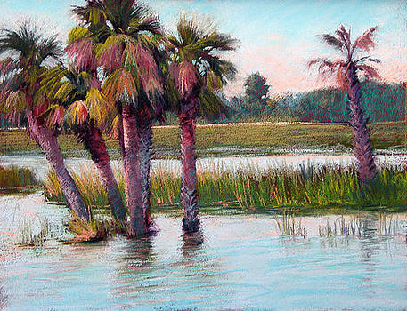 Palm Party by Marsha Savage