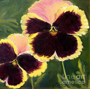 Pansies by Jean Turner Smith
