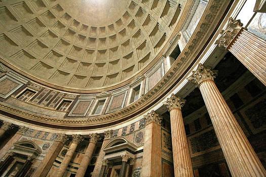 Pantheon Rotunda Columns by Vicki Hone Smith