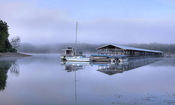 Pastel Morning by Ron  McGinnis