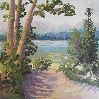Path to the Beach by Rita Goldner