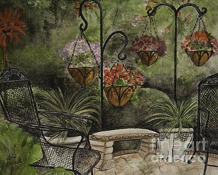 Patio Garden by Gail Darnell