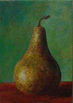 Pear I by Gonca Yengin