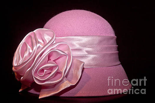 Pink Cloche Hat by Jill Smith