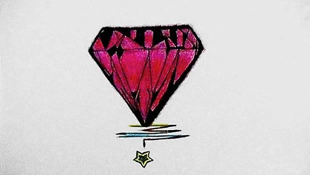 Pink Panther Diamond by Lars Sirois