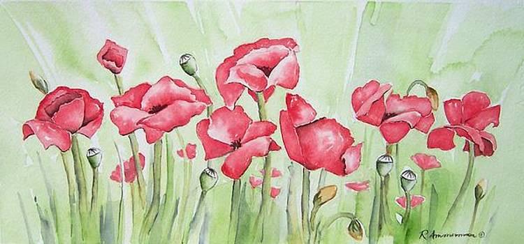 Poppy Field by Regina Ammerman