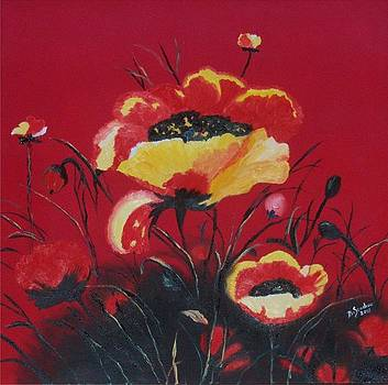Poppy Love by Barb Stachow