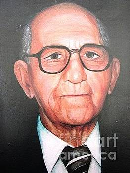 Portrait of Angelo Turbesi by Renee Dumont  Museum Quality Oil Paintings  Dumont