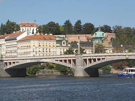 Prague on the Maldav by Jennifer Ott
