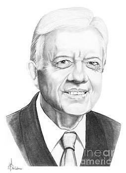 President Jimmy Carter by Murphy Elliott