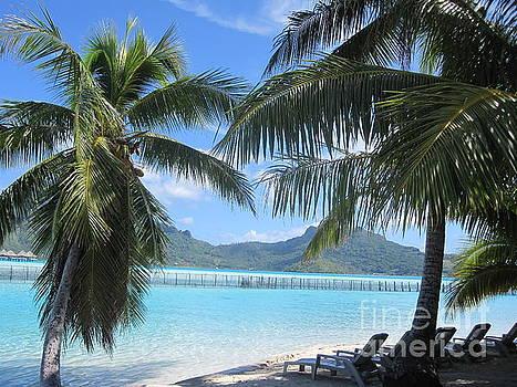Private Island Shade in Bora Bora by Paul Jessop