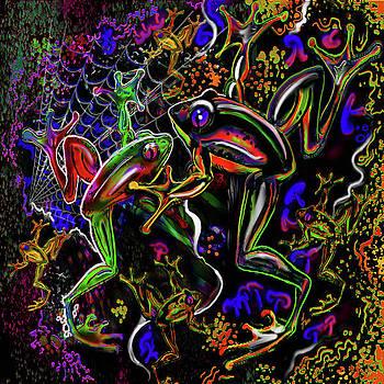 PSYchedelic Frogs by Steve Farr