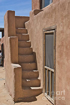 Pueblo Steps by David Pettit