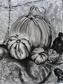 Pumpkin and Nevermore by Diana Kaye Obe