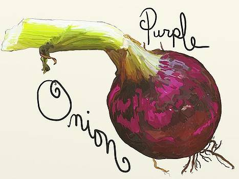 Purple Onion by Patti Siehien