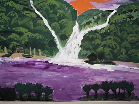 Purple Waters by Lisa Stunda