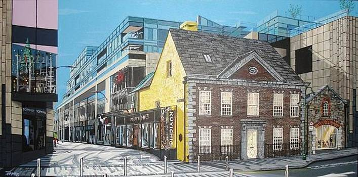 Queen Anne house Opera lane by Rick McGroarty