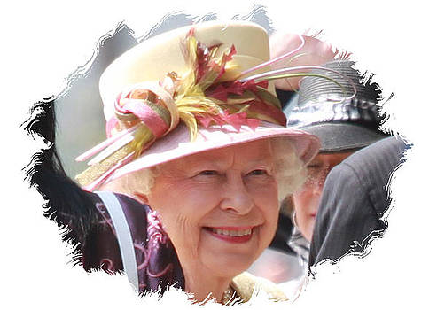 Queen of England - Matted by John-Paul Fillion