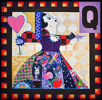 Queen of Hearts by Jenny Valdez
