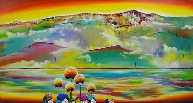 Rainbow Mountain by Tang Hong Lee