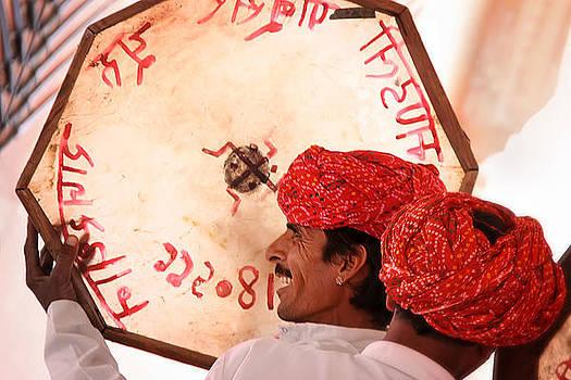 Rajasthani Drummers by Mostafa Moftah