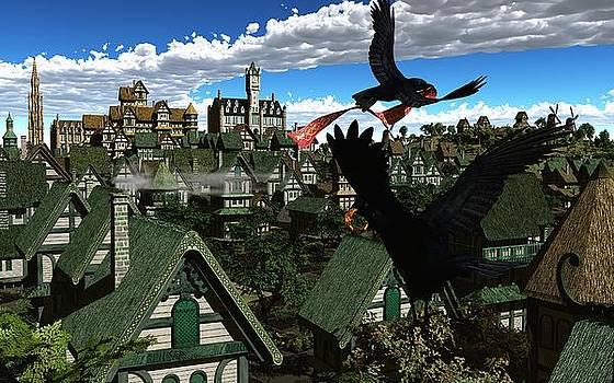 Ravens Flight by Diana Morningstar