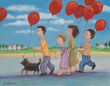Red Balloons by Shari Jones