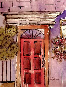 Red Door by Constance Larimer