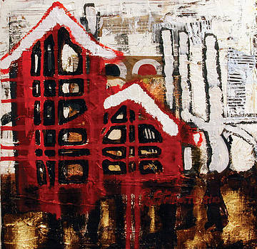Red House 3 by Raquel Stallworth