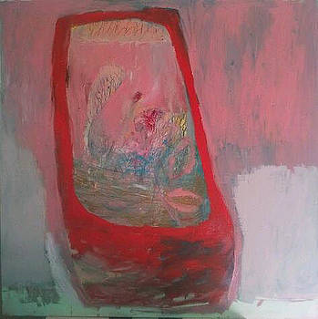 Red Vase by Brooke Wandall