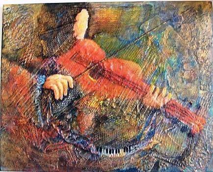 Red Violyn by Bonnie Hallay
