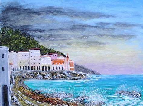 Riviera Ligure by Larry Cirigliano