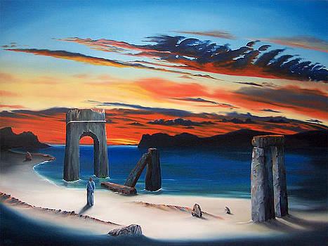 Road to Galilee II by David Fedeli