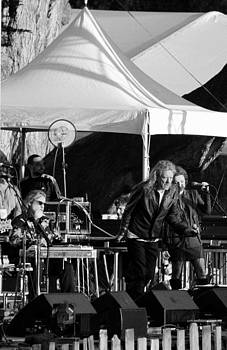 Robert Plant 5623 BW by Dennis Jones