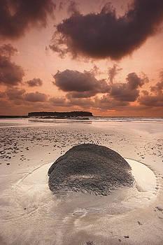 Rock By Sunset by Sydney Alvares
