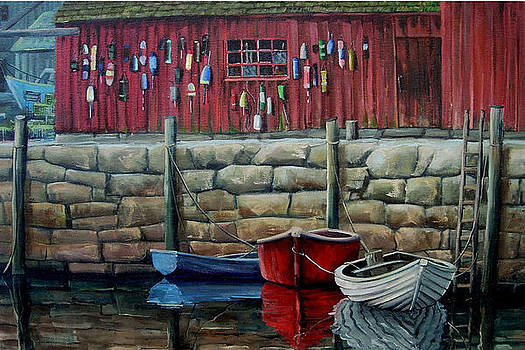 Rockport Harbor by Michael Cranford