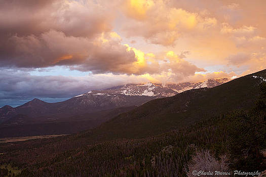 Rocky Mountain Sunset by Charles Warren