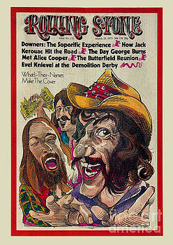 Rolling Stone Cover - Volume #131 - 3/29/1973 - Dr. Hook and the Medicine Show by