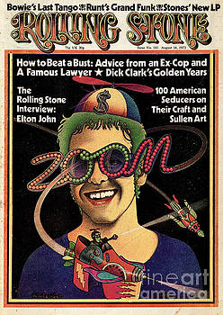 Rolling Stone Cover - Volume #141 - 8/16/1973 - Elton John by