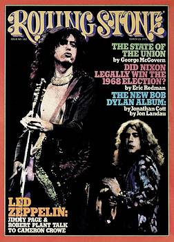 Rolling Stone Cover - Volume #182 - 3/13/1975 - Jimmy Page and Robert Plant by