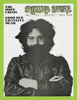 Rolling Stone Cover - Volume #40 - 8/23/1969 - Jerry Garcia by