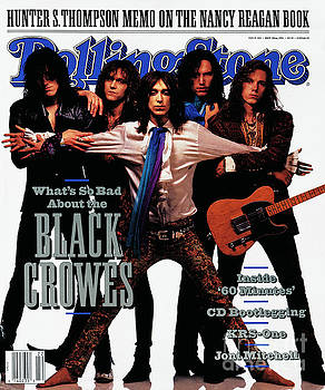 Rolling Stone Cover - Volume #605 - 5/30/1991 - Black Crowes by
