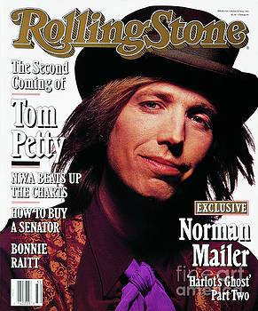 Rolling Stone Cover - Volume #610 - 8/8/1991 - Tom Petty by
