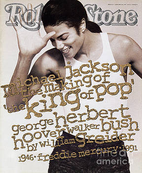 Rolling Stone Cover - Volume #621 - 1/9/1992 - Michael Jackson by